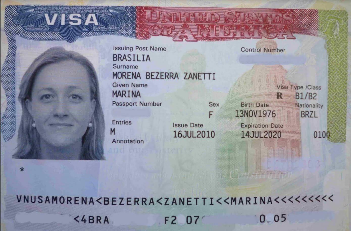 Visa Mỹ diện B2