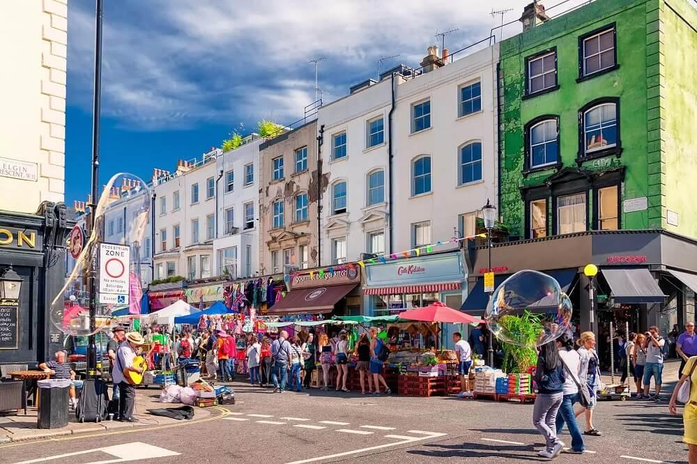 Portobello – khu chợ chuyên bán đồ cổ và đồ lưu niệm