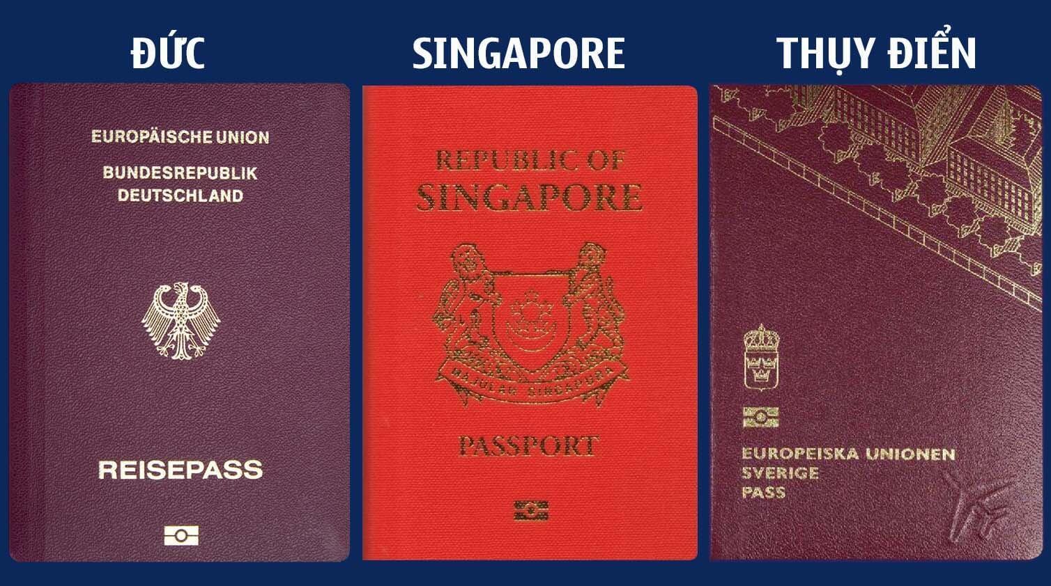 """Hộ chiếu Singapore dẫn đầu top hộ chiếu """"quyền lực"""" nhất thế giới"""