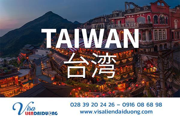Thủ tục làm visa Đài Loan từ A-Z