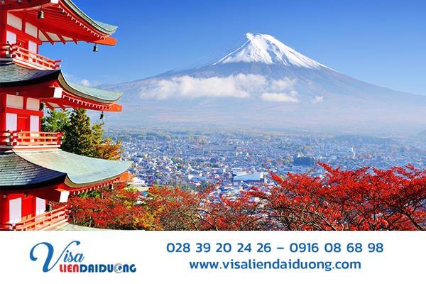 """Bí kíp xin visa du lịch Nhật Bản """"nộp đâu đậu đó"""""""
