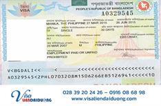 Quy trình làm visa du lịch Bangladesh