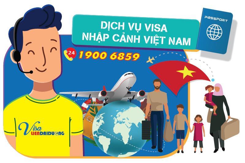 Dịch vụ xin visa nhập cảnh Việt Nam