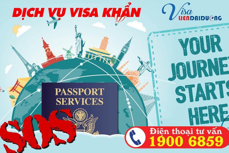 Dịch vụ làm visa khẩn uy tín TPHCM