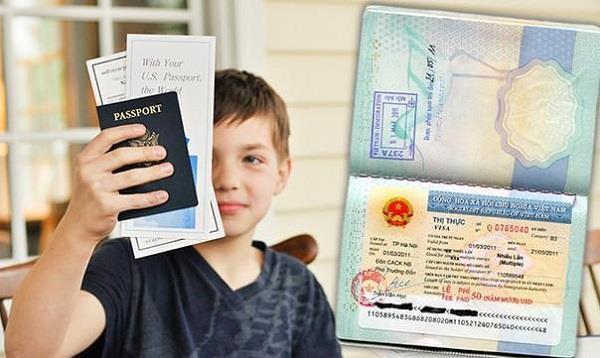 Thủ tục làm hộ chiếu trẻ em dưới 14 tuổi