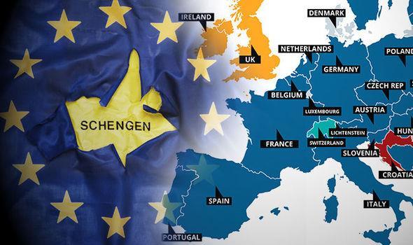 Kết quả hình ảnh cho Schengen