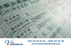 Kinh nghiệm xin visa Trung Quốc du lịch tự túc