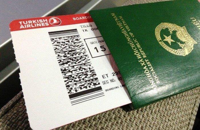 Các loại hộ chiếu Việt Nam