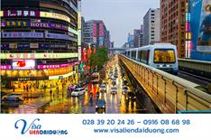 Điều kiện miễn phí thủ tục cấp visa du lịch Đài Loan