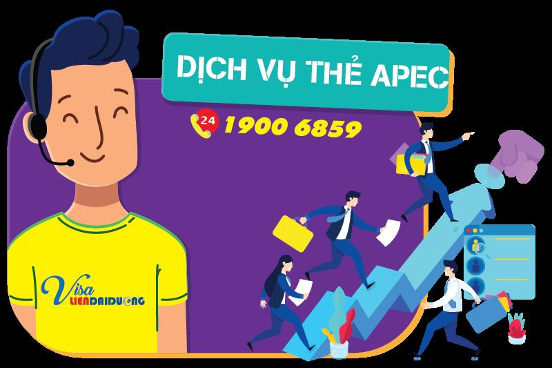 Dịch vụ làm Thẻ APEC uy tín tại TPHCM