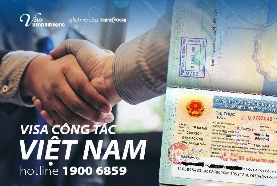 Dịch vụ xin visa công tác Việt Nam